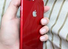 ايفون 7 بلسسسسس لونه احمر 128 جي بي وكاله للبيع او بدل مع  mate20pro