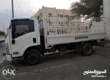 يوجد لدينا خدمة نقل البضائع والأثاث داخل وخارج مسقط.