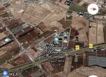 ارض 1100م طريق المطار خلف جامعة الزيتونه