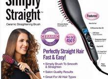 فرشاه لتنعيم الشعر