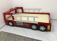 للبيع سرير/كرفايه /اطفال /مستخدم شي بسيط