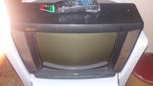 تلفزيون JVC 14 بوصة مستعمل بالريموت بالضمان