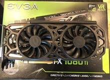 العلامة التجارية الجديدة Evga Geforce GTX 1080 ti 11GB