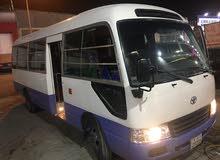 للايجار باص كوستر موديل 2011 مكيف بحالة ممتازة 22 راكب