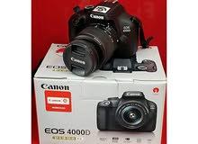 Canon Eos 4000d+Ef-s 18-55mm paiement Cash a la livraison