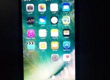ايفون 7 plus 128 اسود لامع للبيع