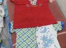 مجموعة ملابس اطفال