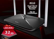راوتر Mercusys AC12 مخصص للسرعات العالية وانترنت الفايبر