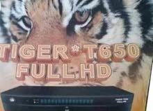 رسيفر تايجر T650 HD الأصلي جديد بالكرتونه