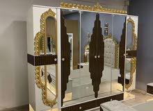 غرفة نوم موديل تركي جديد حصرآ من معرضنا وبسعر مناسب