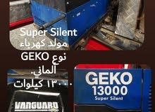GENKO 13000 kilowatt original price 2400. used super silent