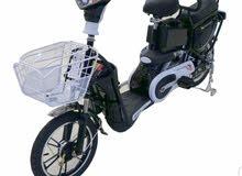 دراجة كهربائيه وهوائية