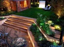 مهندسة ديكور وعمارة للعمل في تصاميم الحدائق والتصاميم الداخلية