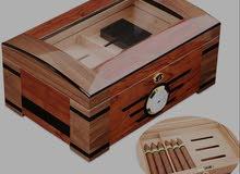 Luxury Handmade Cigar Humidor Crude Wood