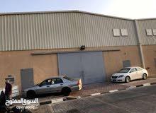 لايجار مخزن 1500 متر مرخص مطافي يصلح جميع الأنشطة التخزينية في الشويخ