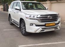 For sale 2017 White Land Cruiser