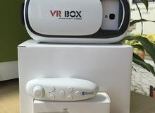 VR BOX نظارة الواقع الافتراضي الجيل الثاني مع ريموتها الأصلي