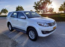 Used condition Toyota Fortuner 2015 with 1 - 9,999 km mileage