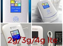 Mobile router 4G network، 2G and 3G. شاشة عرض