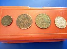 نقود قديمة مغربية :موزونا+فرنك