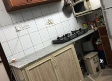 Stove of 3 burner with glass top - Black)