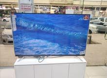 شاشة TcL سمارت 4Kالحجم الكبير ضمان ثلاث سنوات