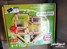 لعبة منازل خشبية لتركيب لنمو الفكري للطفل إستيراد بريطانيا