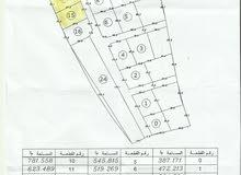 قطعتى ارض بجنب بعض مساحتهما971متر فى مقسم بن نجاح للبيع