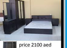مجموعة أثاث غرف النوم كل الألوان المتاحة باللون الأسود البني الأبيض وغيرها الكثير