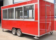 تشطيب عربة إلى مطعم متنقل