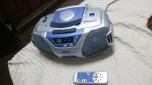 مسجل مع cd  لم يستعمل #مع راديو بسعر رائع