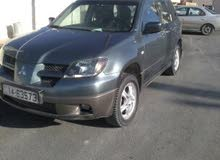 Grey Mitsubishi Outlander 2003 for sale