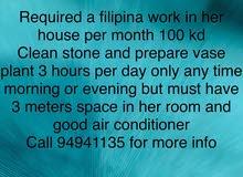required filipina