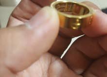 سلسال فرساتشي وخاتم كارتير طبق الأصل درجة أولي ممتازة جدا