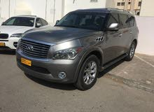Used condition Infiniti QX56 2012 with 1 - 9,999 km mileage