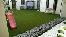 عشب الحدائق الصناعي (الترتان)