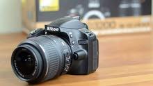 كاميرا nikon 3200d الاحترافيه بسعر مغري جدآ