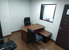 الترخيص التجاري بالإضافة إلى المكتب المتاحة
