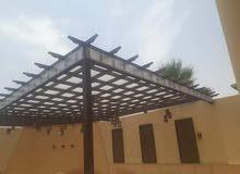 مؤسسه القحطامي للمظلات وسواتر  وجميع اعمال الحداده