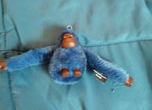 Kipling monkey Light blue