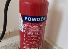 اسطوانة إطفاء حريق 6 كيلو عدد 2