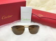 للبيع نظارات جوتشي الجلد وكارتير درجة أولي طبق الأصلAAA