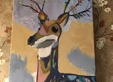 لوحة فنيه يدوية