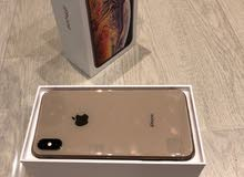 FOR SAEL IPHONE XS MAX GOLD 512GB USED 5 DAYS