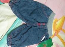 بنطلون جينز بناتى عمر 3،6،9،12شهر