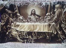 صورة سيد المسيح العشاء الاخير مطعم بلحرير