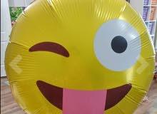 بالونات هيليوم ايموجي