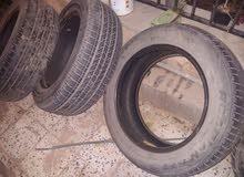 اطارات مقاسي 18 و16 (قومات او عجل)  ..... used tires 16 & 18 inches