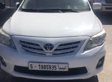 Toyota Corolla car for sale 2012 in Tripoli city