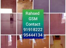 general cleaning & Marble mosaic tiles grinding polishing building & villa
